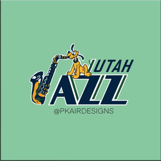 Utah Jazz Disney Logo