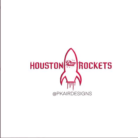 Houston Rockets Disney Logo