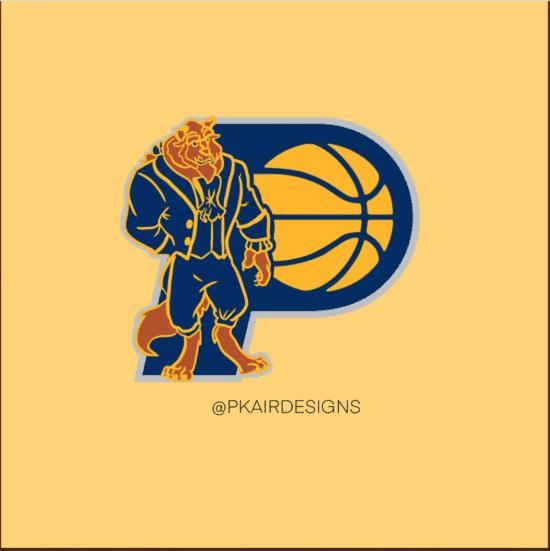 Indiana Pacers Disney Logo