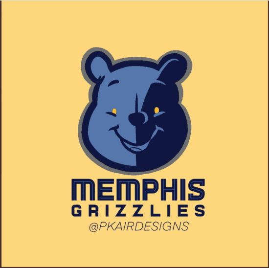 Memphis Grizzlies Disney Logo