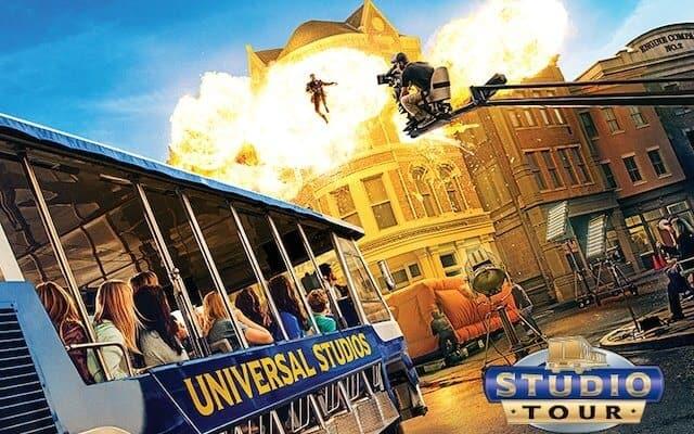 Universal Studios Backlot tour