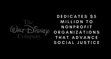 $5 million donation social justice disney header