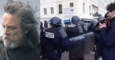 Mark Hamill Black Lives Matter protest video