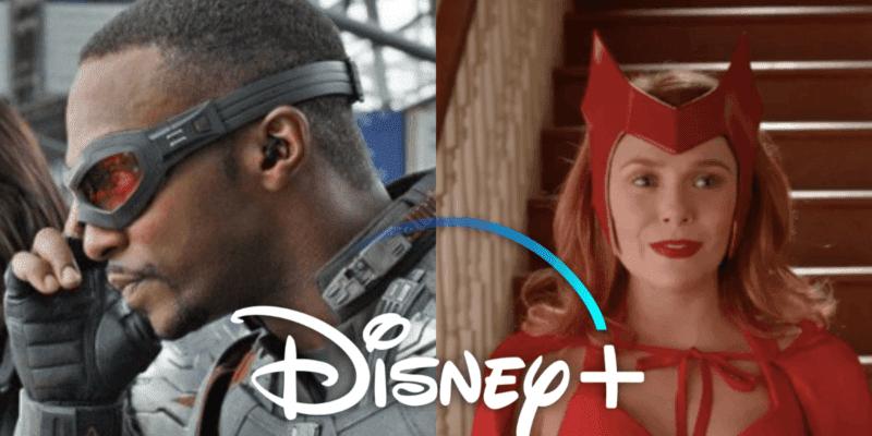 WandaVision Falcon and the Winter Soldier Disney Plus
