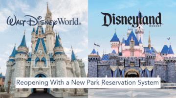 disney parks reservations