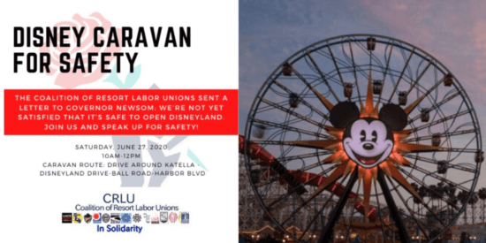 Disneyland Unions Suspended