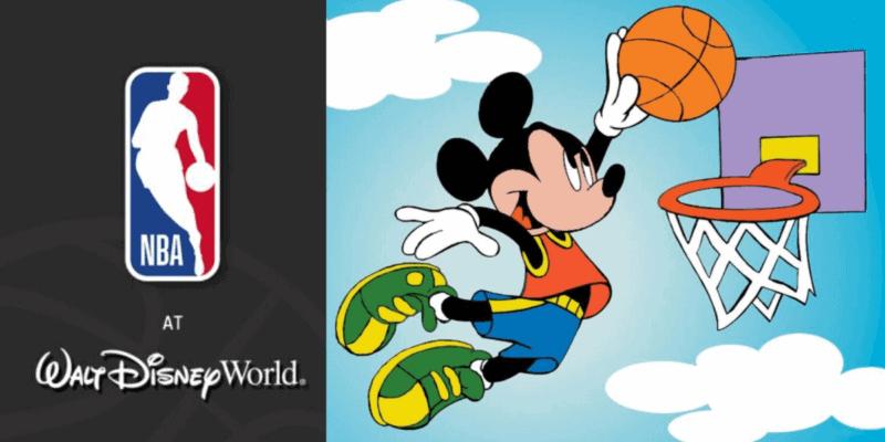 NBA at disney world