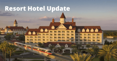 WDW Resort Update