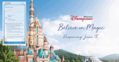 Hong Kong Disneyland Health Disclaimer