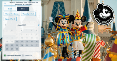 WDW Annual Pass Blockouts