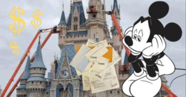 Unpaid bills Disney World
