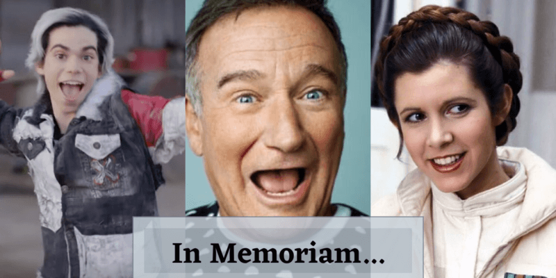 Cameron Boyce Robin Williams Carrie Fisher Remembered