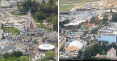 Disneyland Paris Areal Footage