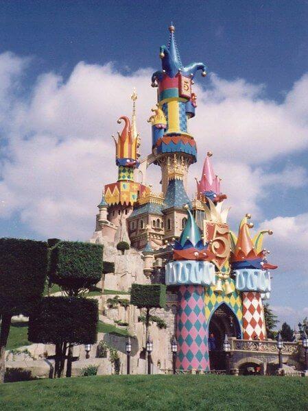 Disneyland Paris 5th Anniversary Castle