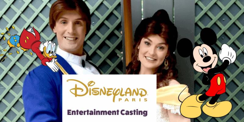 Disneyland Paris character auditions