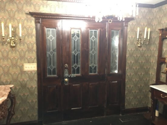 Haunted Mansion Entry