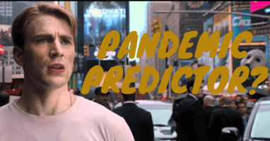 Captain America pandemic prediction