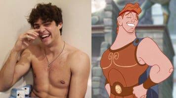 Noah Centineo and Hercules