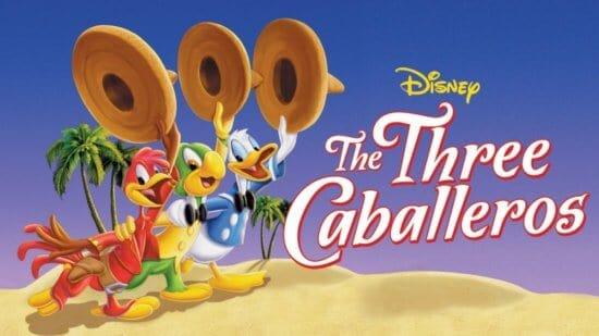 """The Three Caballeros"" Movie Poster"