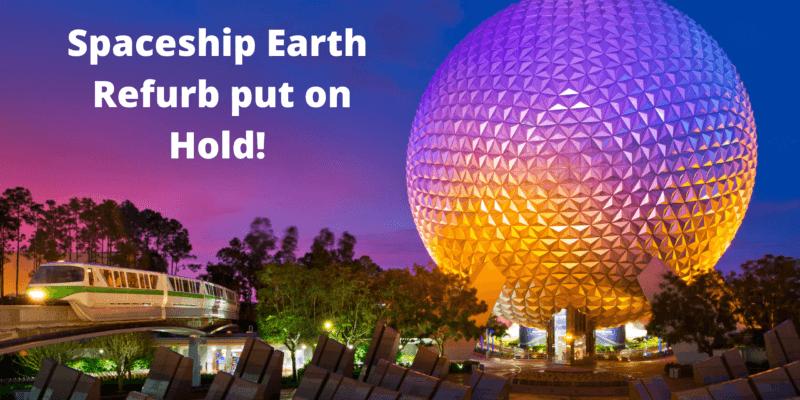 Spaceship Earth refurb