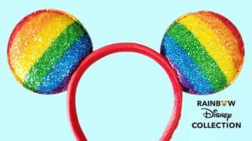 Mickey Mouse Ears rainbow