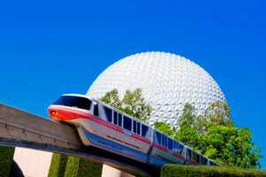 disney world monorail epcot