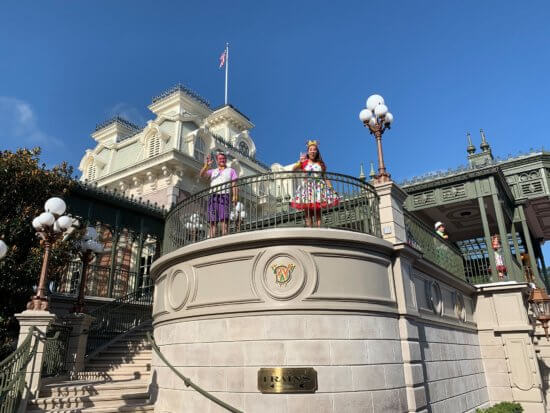 disney characters magic kingdom