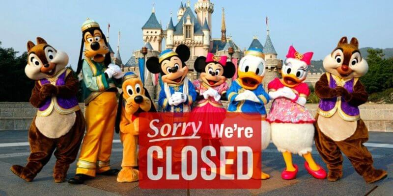Hong Kong Disneyland to close