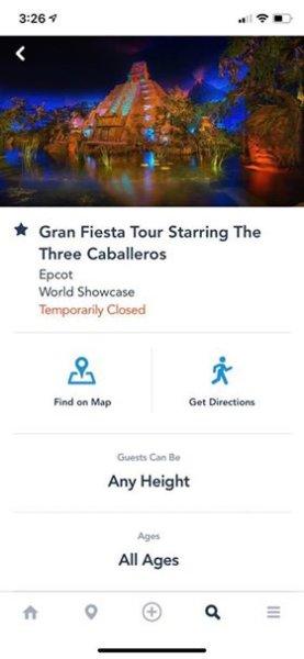 gran fiesta tour closed