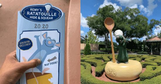 Review EPCOT Ratatouille scavenger hunt