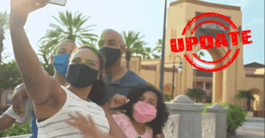 Universal Face Mask Policy Update