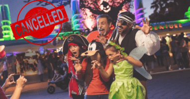Disneyland Cancels Oogie Boogie Bash