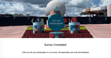 Disney World Guest Survey