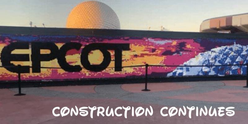 epcot construction continues