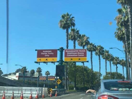 DTD Parking Signs