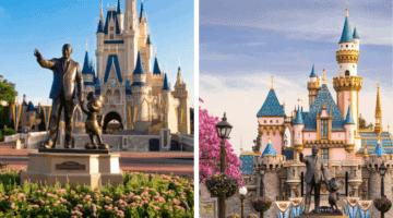 Disney World to Disneyland