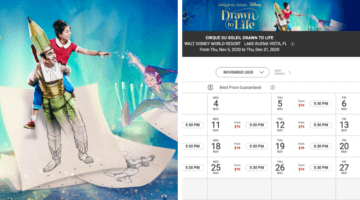 Drawn to Life Tickets Available