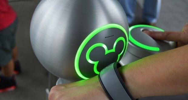 Disney World Fingerprint Scanner