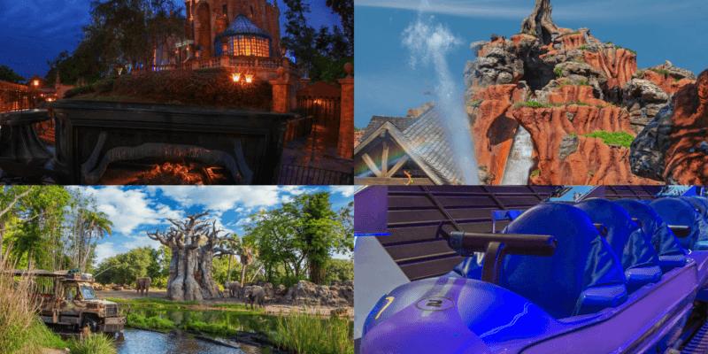 Attraction changes at Walt Disney World