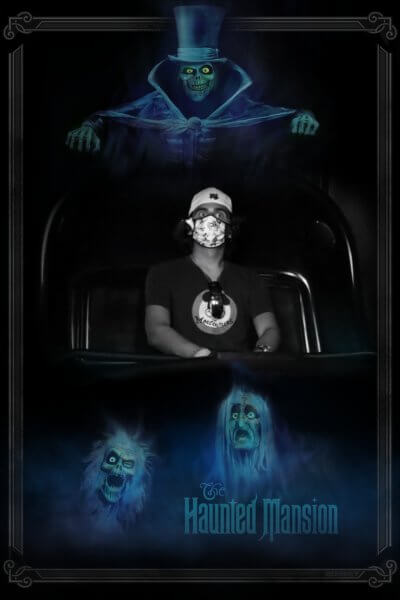 Me on the Haunted Mansion