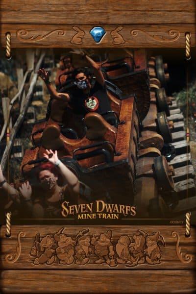 Me on Seven Dwarfs Mine Train