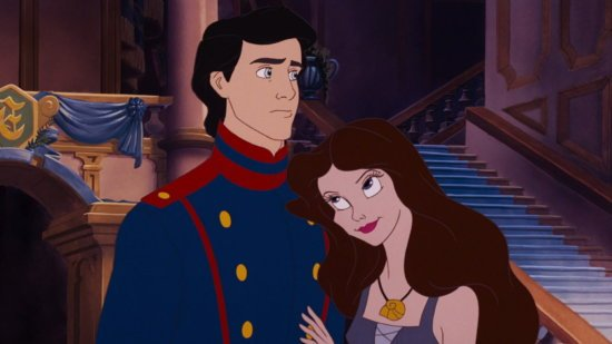 Vanessa with Prince Eric