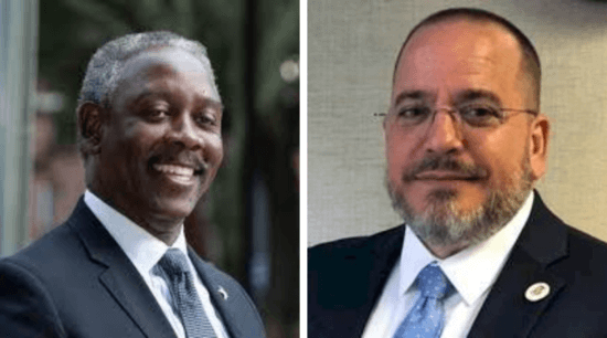 Mayor Demings and Dr Pino