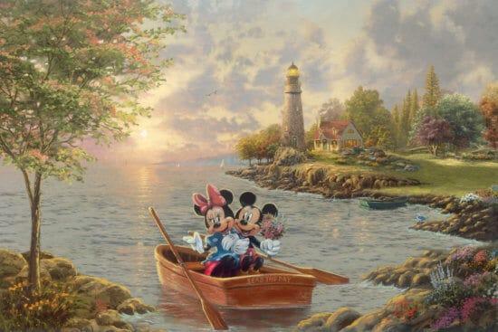 Crique du phare de Mickey et Minnie