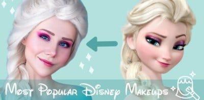 Most Popular Disney Makeup Looks