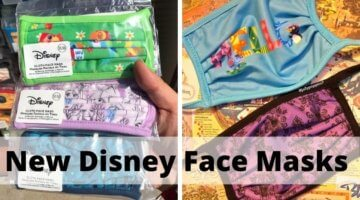 new disney face masks