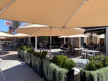Black Tap Outdoor Dining