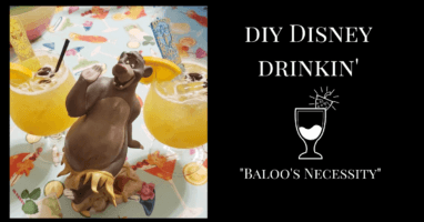 Jungle Book Inspired Disney Cocktail
