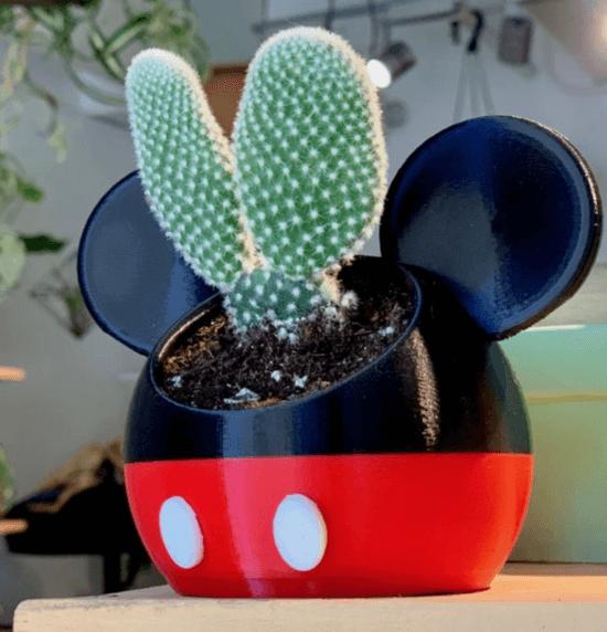 classic mickey planter