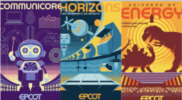 epcot future world posters header